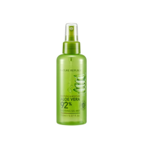 Nature Republic Aloe Vera 92% Soothing Gel Mist - 150 ml