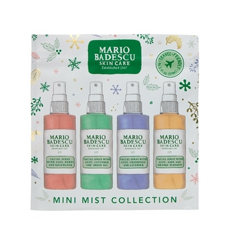 Mario Badescu Mini Mist Facial Spray Collection - (59mlx4)