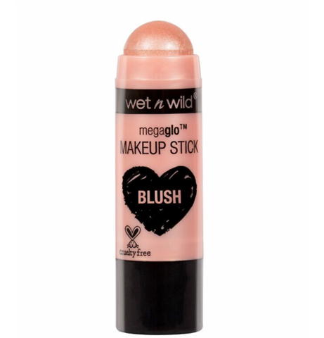 Wet n Wild MegaGlo Makeup Stick Blush - Peach Bums - Glamorous Beauty