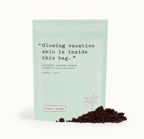 Frank Body Coconut Coffee Scrub - Glamorous Beauty