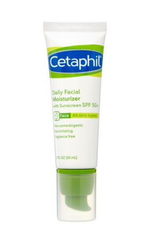 Cetaphil Daily Face Moisturizer SPF 50 plus  - 50 ml - Glamorous Beauty