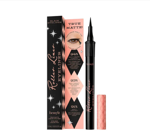 Benefit Roller Liner Matte Liquid Eyeliner - Black - Glamorous Beauty