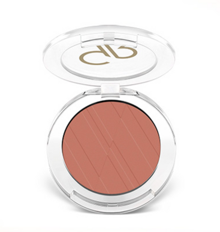 Golden Rose Powder Blush - 08 Coral Rose - Glamorous Beauty