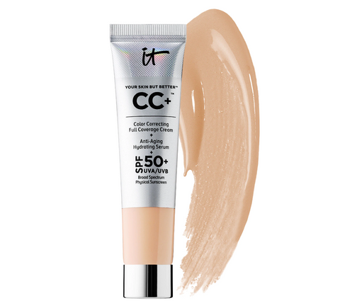 It Cosmetics Your Skin But Better CC+ Cream with SPF 50+ Mini - Light - Glamorous Beauty