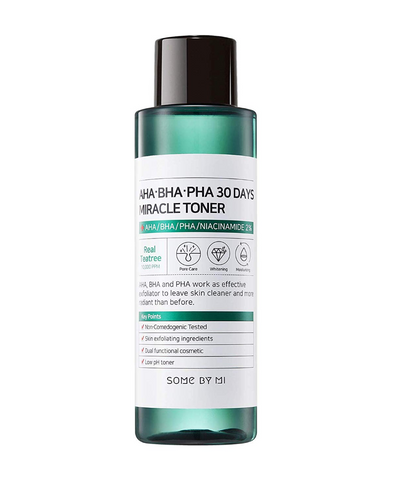 SOME BY MI  AHA, BHA, PHA 30 Days Miracle Toner - 150ml - Glamorous Beauty