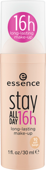 essence stay all day 16h long-lasting make-up - 10 soft beige - Glamorous Beauty