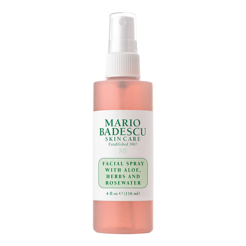 Mario Badescu Facial Spray with Aloe, Herbs and Rosewater - 118ml - Glamorous Beauty