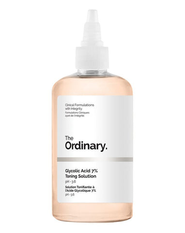 The ordinary glycolic acid 7% toning solution - 240ml - Glamorous Beauty