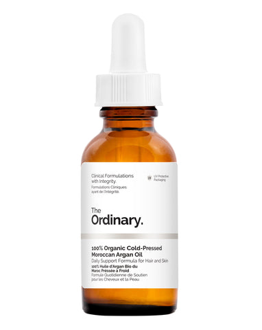 The Ordinary 100% Cold-Pressed Moroccan Argan Oil - 30ml - Glamorous Beauty