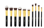 BH Cosmetics Sculpt and Blend 3 - 10 Piece Brush Set - Glamorous Beauty