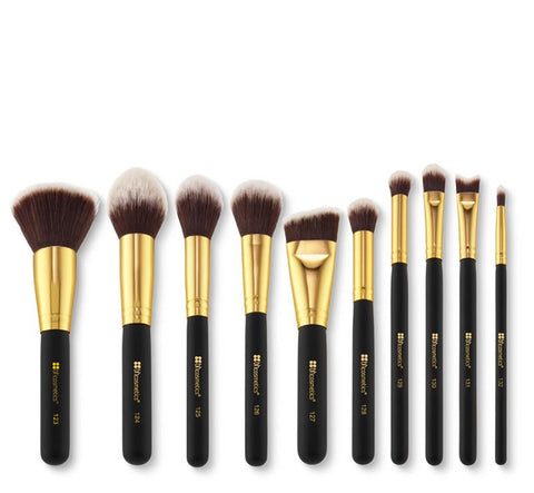 BH Cosmetics Sculpt and Blend 2 - 10 Piece Brush Set - Glamorous Beauty