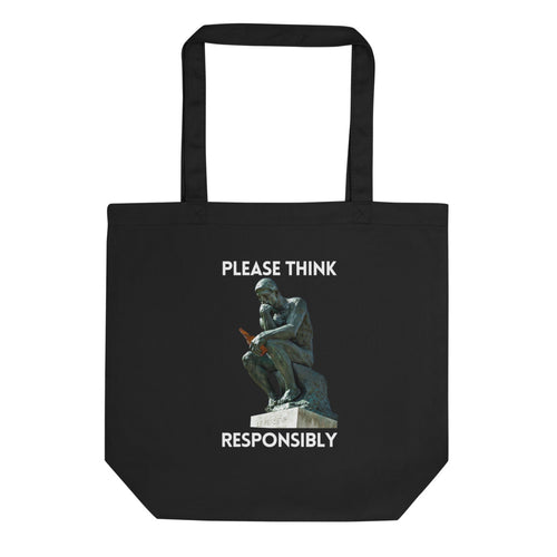 Please Think Responsibly Eco Tote Bag