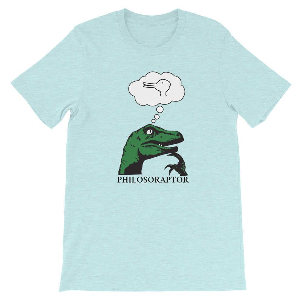 Philosoraptor Duck-Rabbit Unisex Tee