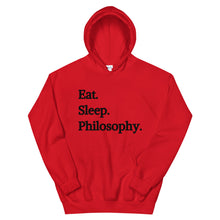 Eat Sleep Philosophy Hoodie
