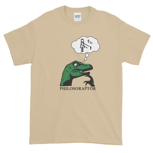 Philosoraptor Trolly Problem Men's Tee