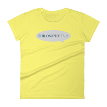 Philosophy Talk Women's Tee
