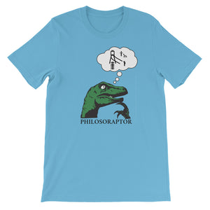 Philosoraptor Trolly Problem Unisex Tee
