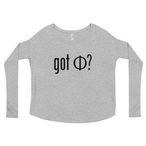 Got Phi Women's Relaxed Long Sleeve Tee