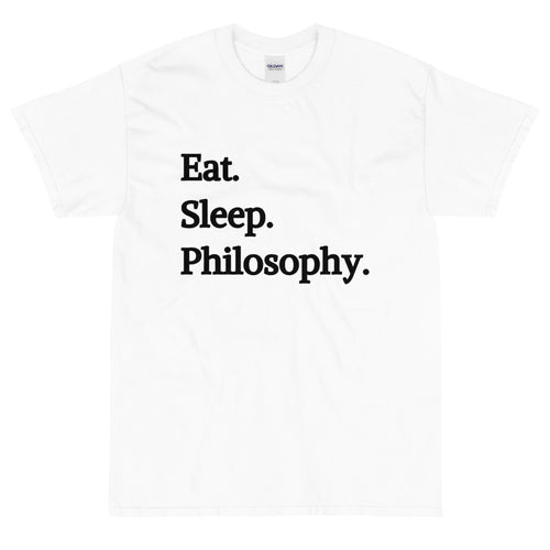 Eat Sleep Philosophy Men's Tee
