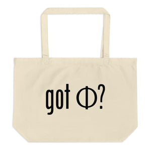 Got Phi Large Eco Tote Bag