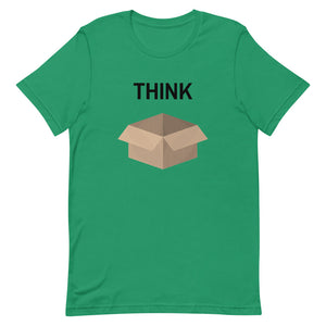 Think Outside the Box Unisex Tee