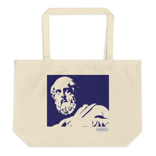 Plato Large Eco Tote Bag