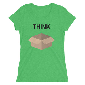 Think Outside the Box Women's Tee