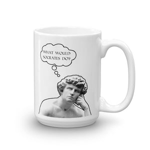 What Would Socrates Do Mug