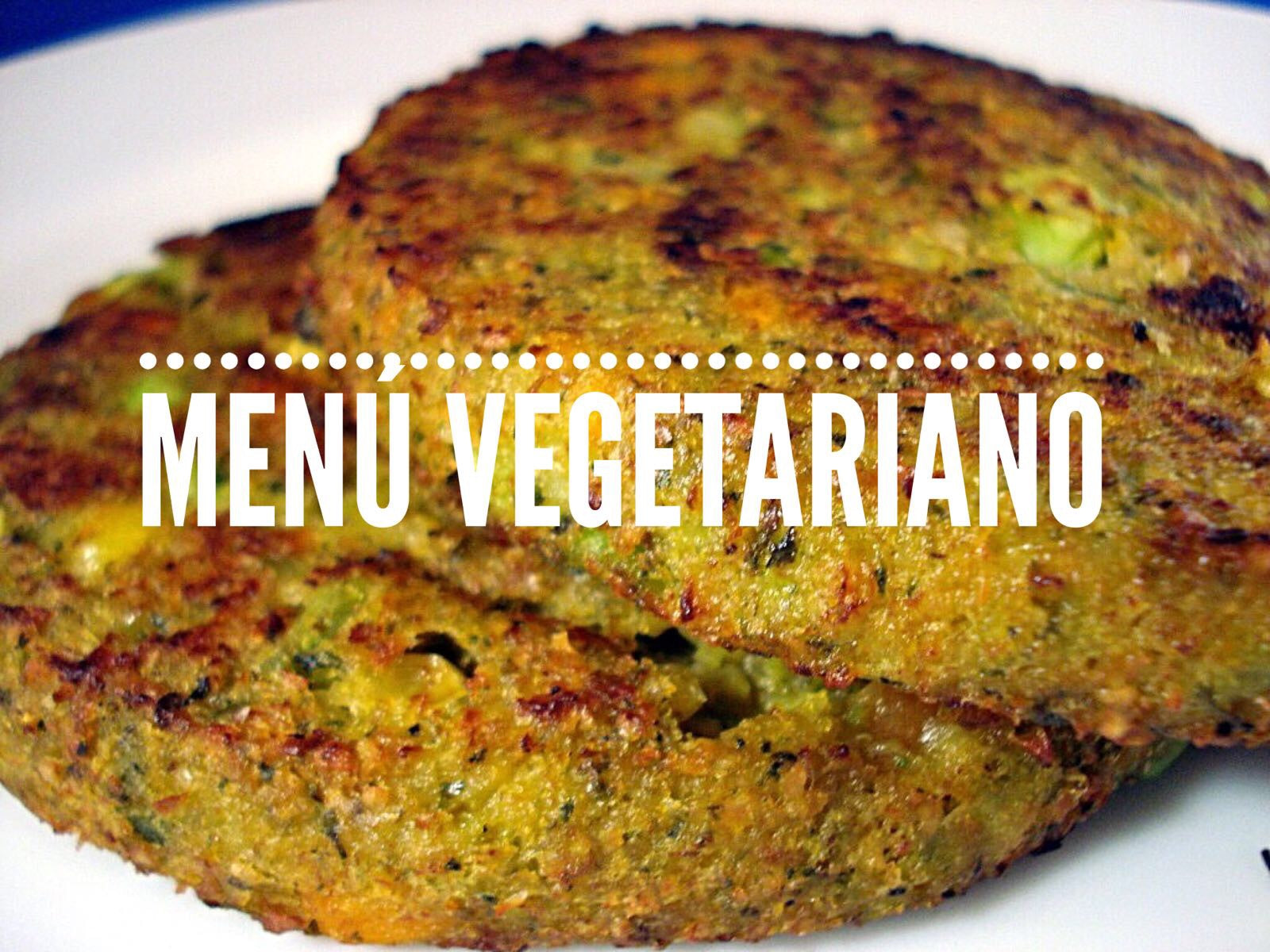 Arroz con Pimientos y Patty Vegetariano / Rice with Peppers and Vegetarian Patty