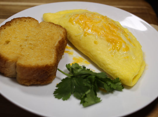 Omelet con Panecillo / Omelette with Bread Roll