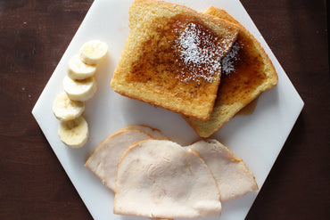 French Toast con Jamón de Pollo / French Toast with Chicken Ham