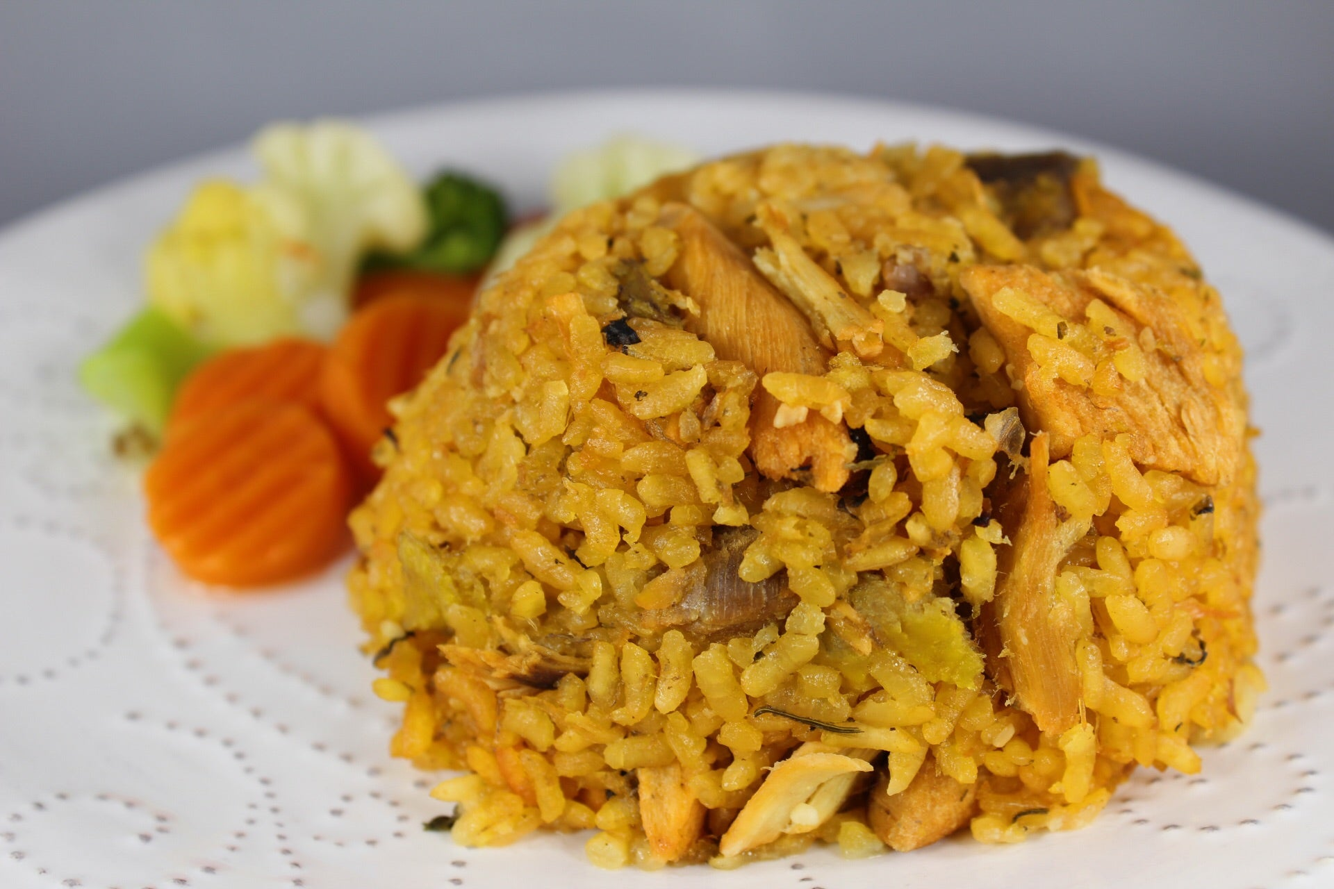 Arroz Mixeado con Pollo y Amarillo / Mixed Rice with Chicken and Sweet Ripe Plantain