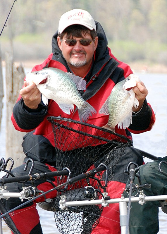 Pre-Spawn Crappie Tips with Ronnie Capps - B'n'M Pole Company