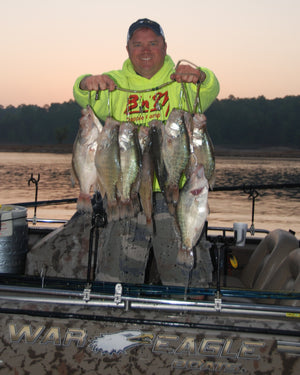 Kent Driscoll On Using the Garmin Panoptix Live Scope to Catch Crappie - Part 1