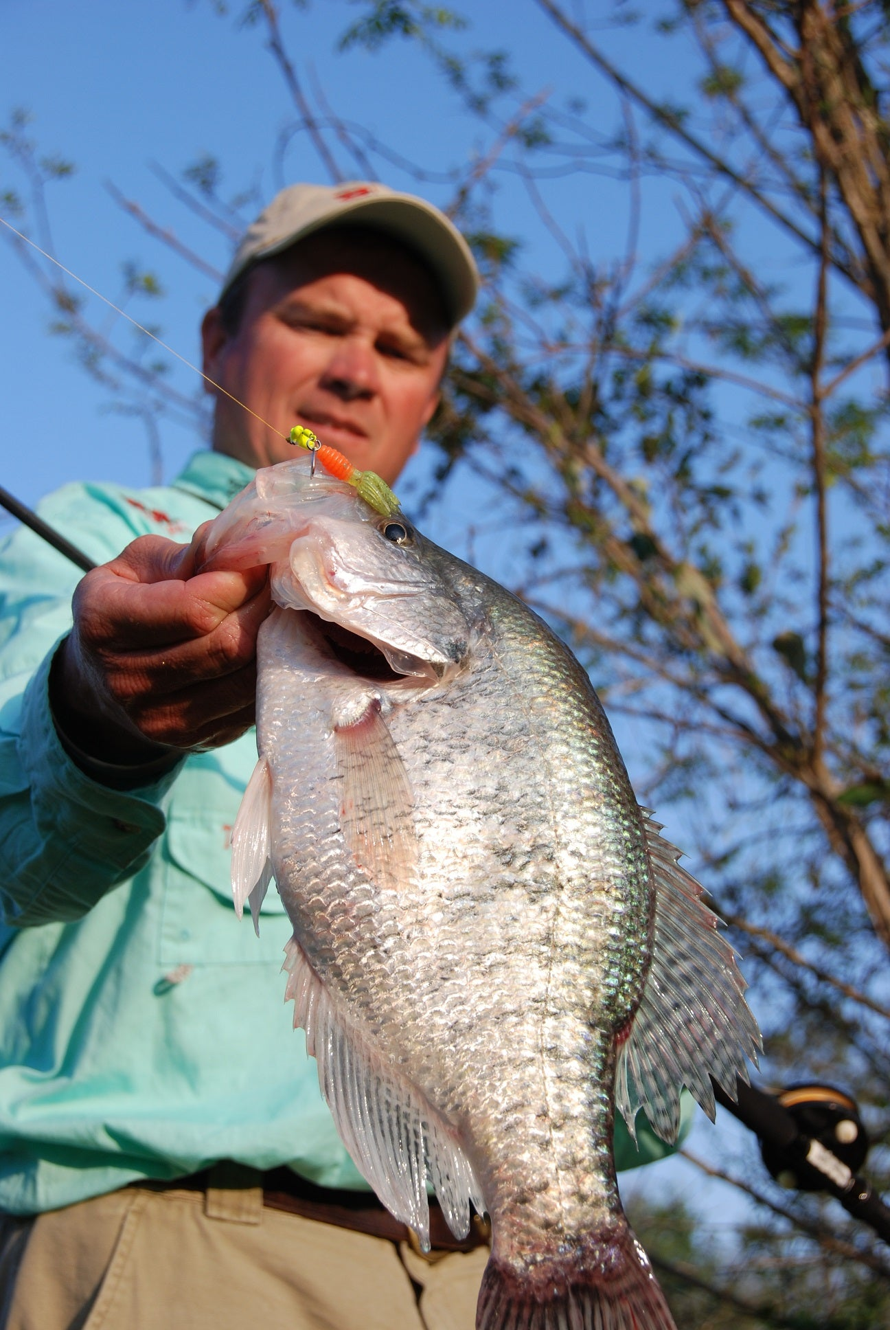 Kent Driscoll On Using the Garmin Panoptix Live Scope to Catch Crappie - Part 2