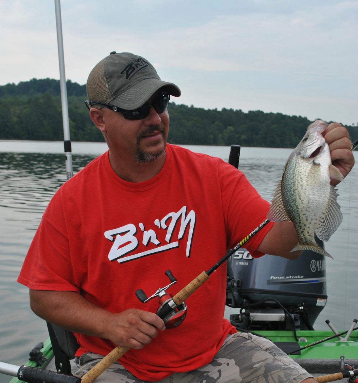 Brad Whitehead on Comparing Fall Crappie Fishing to Spring Crappie Fishing
