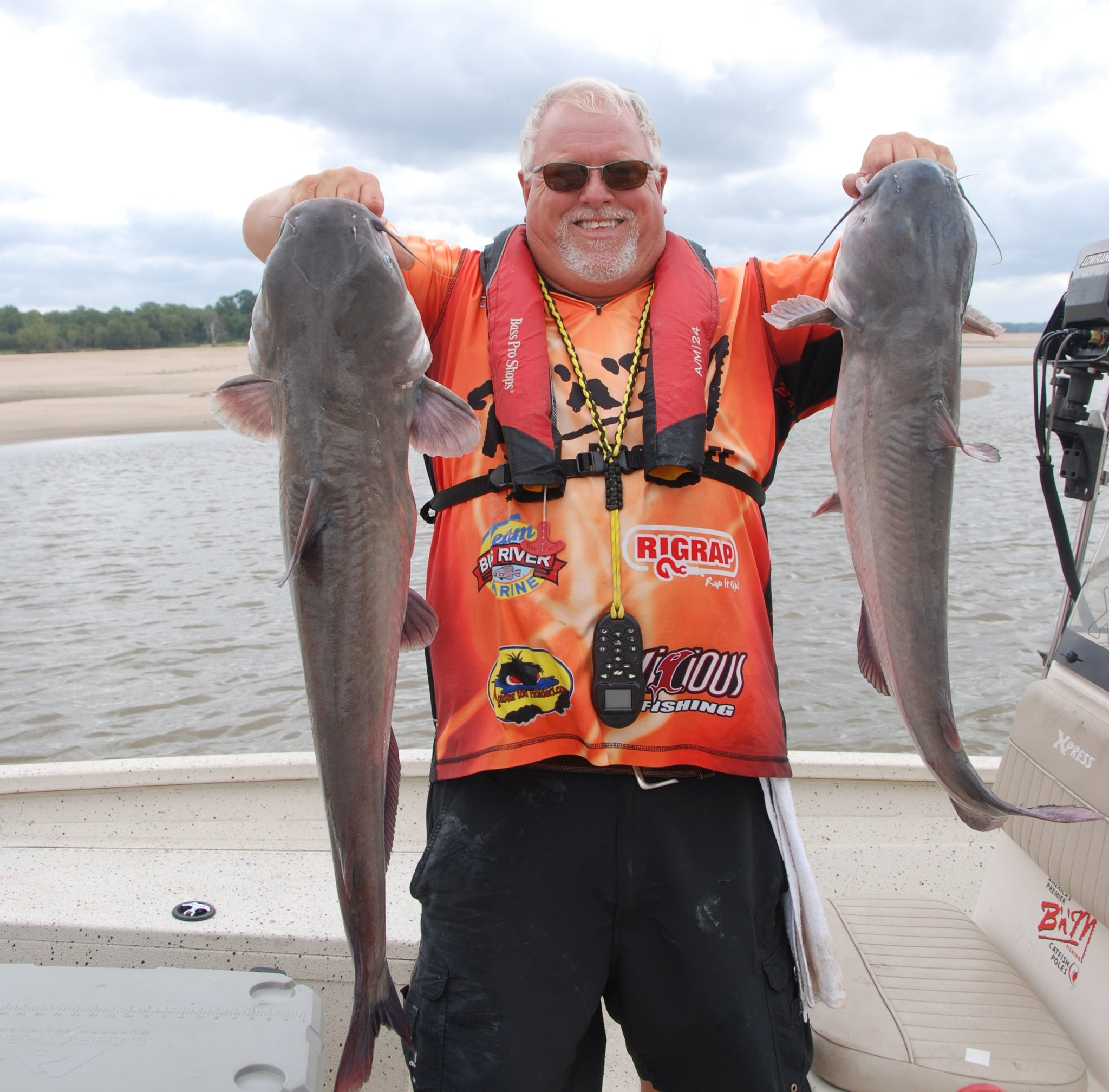 David Magness on Fishing for Suspended Catfish