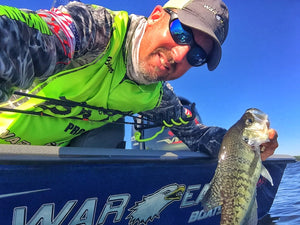 Brian Carter on Scoping Crappie in North Texas Timber