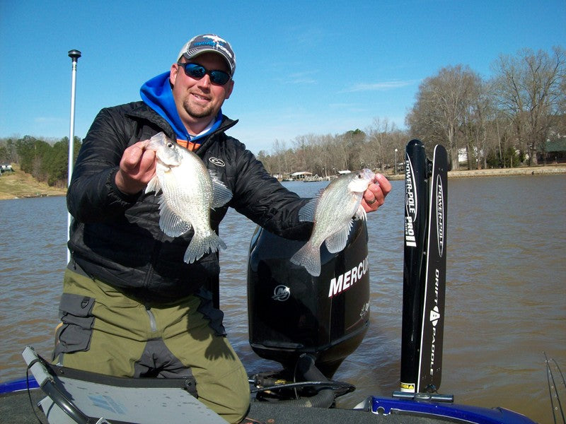 Matthew Outlaw on Fishing Unfamiliar Waters for Crappie