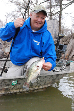 Cold Water Crappie Tips from The B'n'M Pros
