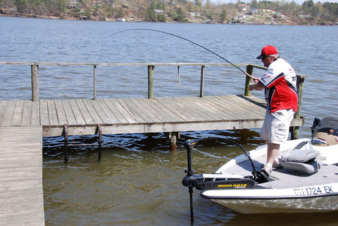Flipping for Crappie with Russ Bailey - B'n'M Pole Company