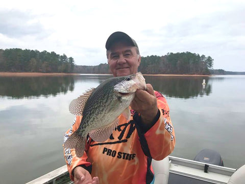 Drop Shotting For Winter Crappie With Joey Mines - B'n'M