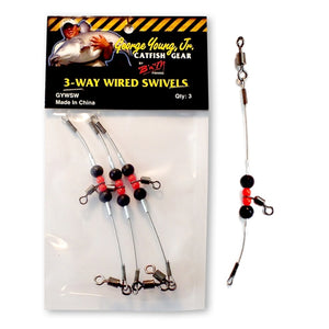 3-Way Wired Swivels