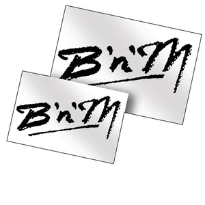 B'n'M Logo Decal