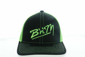 Neon Mesh Hat Green/Black