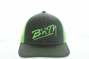 Neon Green/Gray Mesh Hat
