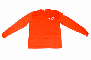 B'n'M Fishing Orange Dry Fit Long Sleeve