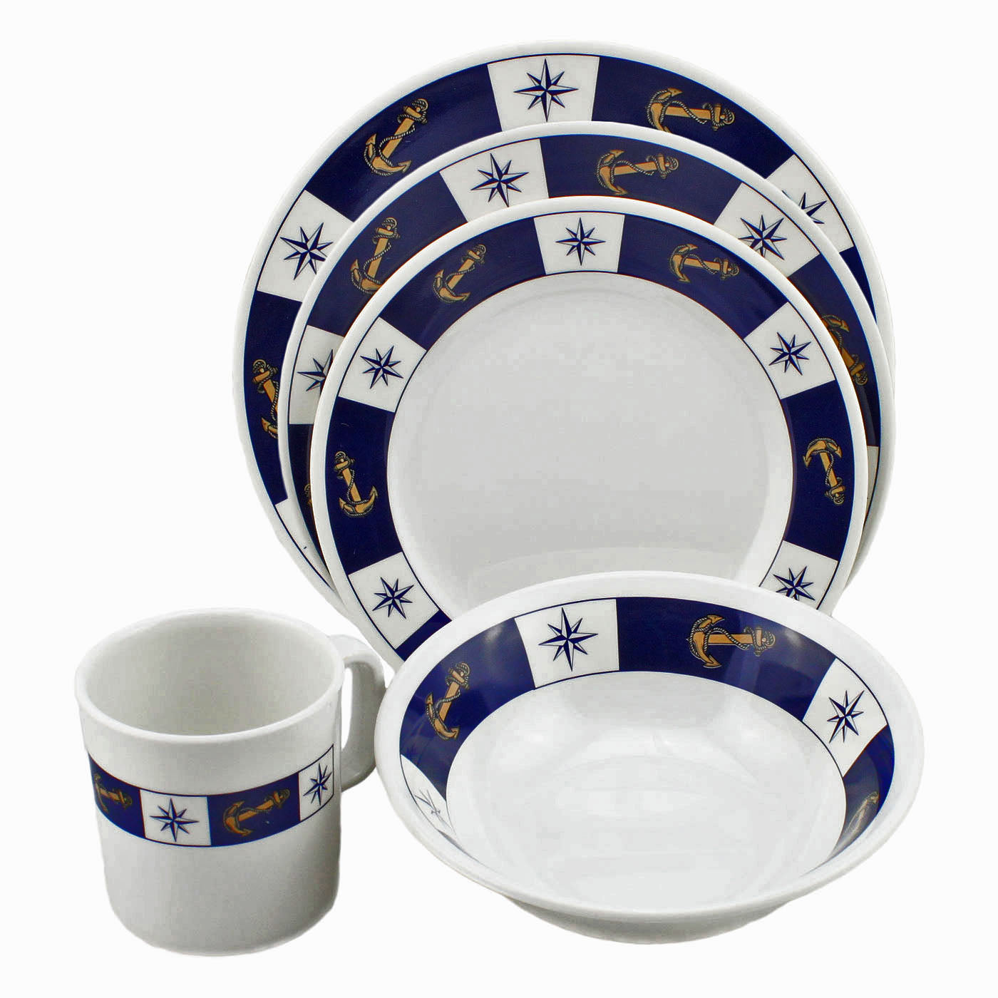 Boating Galleyware Dish Set