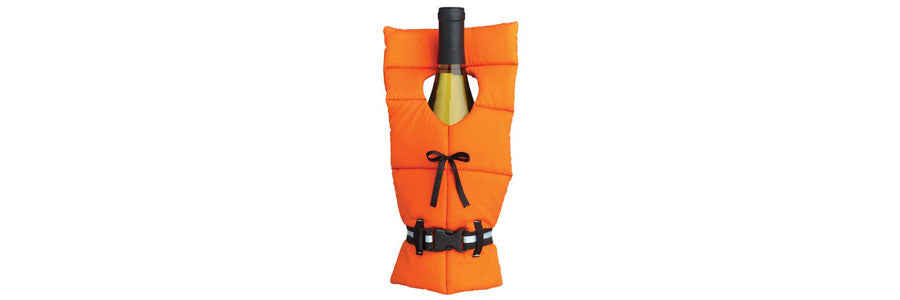 Boating Gift - Life Preserver Wine Bottle Cover