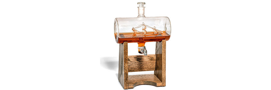 Boating Gift - Ship in a Bottle Decanter